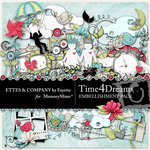 Time 4 Dreams Embellishment Pack-$3.99 (Ettes and Company by Fayette)