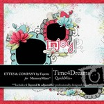 Time 4 Dreams QuickMix-$5.49 (Ettes and Company by Fayette)