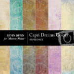 Capri Dreams Colors Paper Pack-$3.99 (Bevin Dunn)