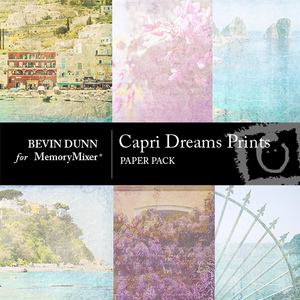 Capri dreams prints pp medium