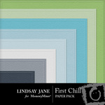 First Chill Embossed Paper Pack-$2.99 (Lindsay Jane)