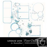 First Chill Frame Pack-$2.99 (Lindsay Jane)