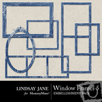 Windows Frame Pack 5-$1.99 (Lindsay Jane)