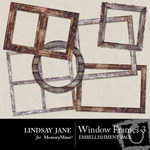 Windows Frame Pack 3-$1.99 (Lindsay Jane)