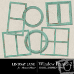 Windows Frame Pack 2-$1.99 (Lindsay Jane)