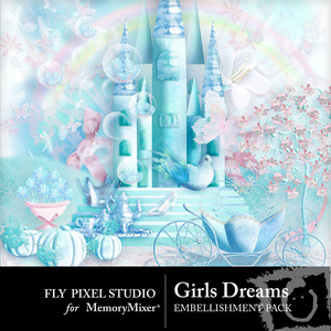 Girls dreams emb medium
