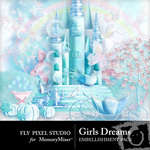 Girls Dreams Embellishment Pack-$2.99 (Fly Pixel Studio)