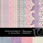 Precious Paper Pack-$3.99 (Designs by Krista)