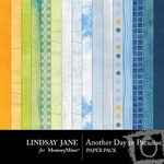 Another Day In Paradise LJ Paper Pack-$2.00 (Lindsay Jane)
