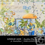 Another Day In Paradise LJ Embellishment Pack-$2.00 (Lindsay Jane)