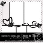 Black and White QuickMix-$3.99 (Albums to Remember)