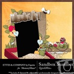 Sandbox Summer QuickMix-$6.49 (Ettes and Company by Fayette)