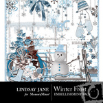 Winter Frost Embellishment Pack-$3.99 (Lindsay Jane)