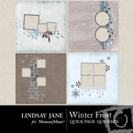 Winter Frost Quick Page QuickMix-$3.49 (Lindsay Jane)
