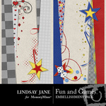 Fun and Games Border Pack-$2.99 (Lindsay Jane)
