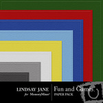 Fun and Games Embossed Paper Pack-$2.99 (Lindsay Jane)