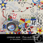 Fun and Games Embellishment Pack-$3.99 (Lindsay Jane)