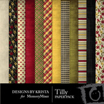 Tilly Paper Pack-$3.99 (Designs by Krista)