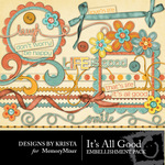 Its All Good Embellishment Pack-$2.99 (Designs by Krista)