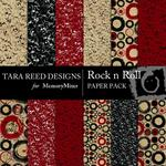 Rock N Roll Paper Pack-$3.99 (Tara Reed Designs)