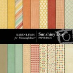 Sunshiny Day Paper Pack-$1.25 (Karen Lewis)