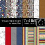 Tool Box Paper Pack-$3.99 (Tara Reed Designs)