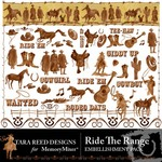 Ride The Range Embellishment Pack-$2.00 (Tara Reed Designs)