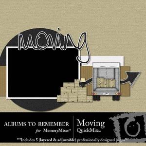 Moving qm medium