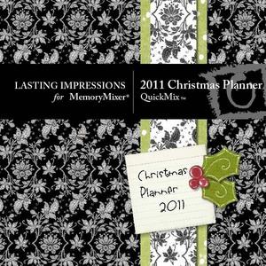 2011 christmas planner medium