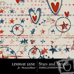 Stars and Stripes Scatterz Pack-$2.99 (Lindsay Jane)