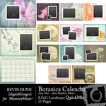Calendar Botanica Any Year QuickMix-$6.99 (Bevin Dunn)