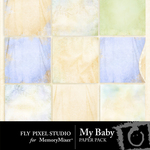 My Baby Paper Pack 1-$3.99 (Fly Pixel Studio)