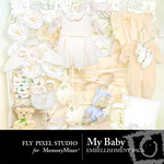 My Baby Embellishment Pack-$2.99 (Fly Pixel Studio)