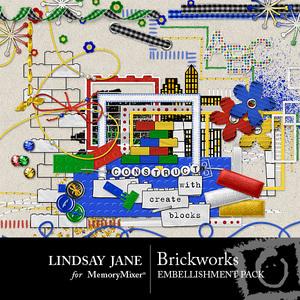Brickworks emb medium