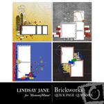 Brickworks Quick Page QuickMix-$3.49 (Lindsay Jane)