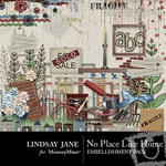 No Place Like Home Embellishment Pack-$2.00 (Lindsay Jane)