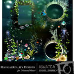 Aquatica Cluster Pack-$1.99 (MagicalReality Designs)