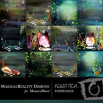 Aquatica Paper Pack-$3.99 (MagicalReality Designs)