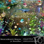 Aquatica Embellishment Pack-$3.49 (MagicalReality Designs)