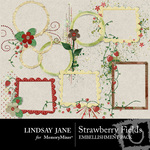 Strawberry Fields Frame Pack-$1.50 (Lindsay Jane)