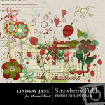 Strawberry Fields Embellishment Pack-$2.00 (Lindsay Jane)