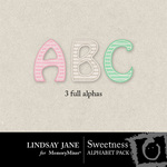 Sweetness Alphabet Pack LJ-$1.49 (Lindsay Jane)
