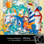 Oh Sea Embellishment Pack-$2.99 (Indigo Designs)