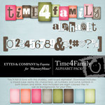 Time 4 Family Alphabet Pack-$1.49 (Ettes and Company by Fayette)