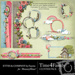 Time 4 Family Cluster Pack-$1.99 (Ettes and Company by Fayette)