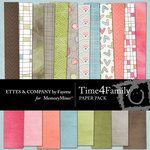 Time 4 Family Paper Pack-$3.99 (Ettes and Company by Fayette)