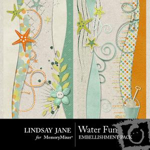 Water fun borders medium