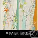 Water Fun Border Embellishment Pack-$2.99 (Lindsay Jane)