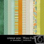 Water Fun Paper Pack-$1.99 (Lindsay Jane)