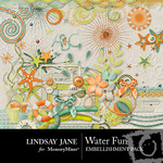 Water Fun Embellishment Pack-$3.99 (Lindsay Jane)